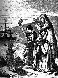 Irish Potato Famine Families Immigrating to America