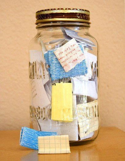 Happiness Jar of Wishes