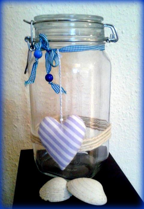 Happiness Jar ready for the new year.