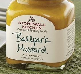 yellow mustard stonewall kitchen ballpark mustard