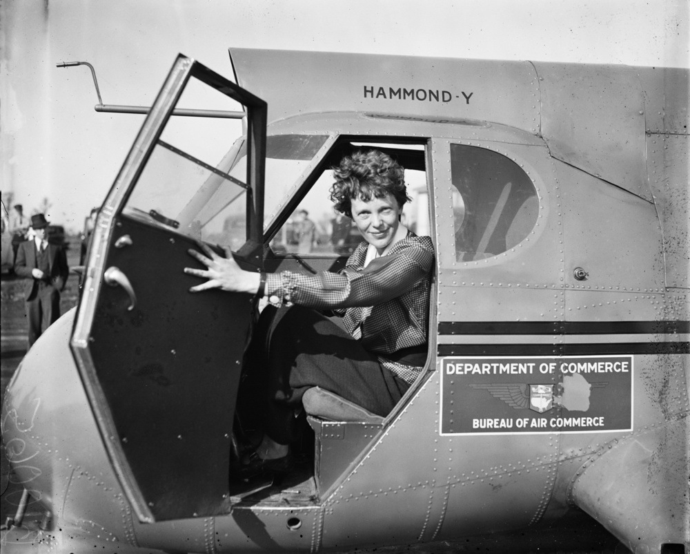 Amelia Earhart disappeared over the Central Pacific near Howland Island at the age of 39 in 1937. From children's books to biographies, theories on why, how and when Amelia may have died have been explored over and again.  People are still searching for physical evidence.  Anything that will give some sort of answer that will prove or disprove favorite theories.