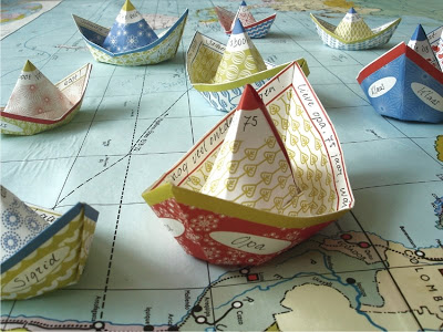 craft paper boat
