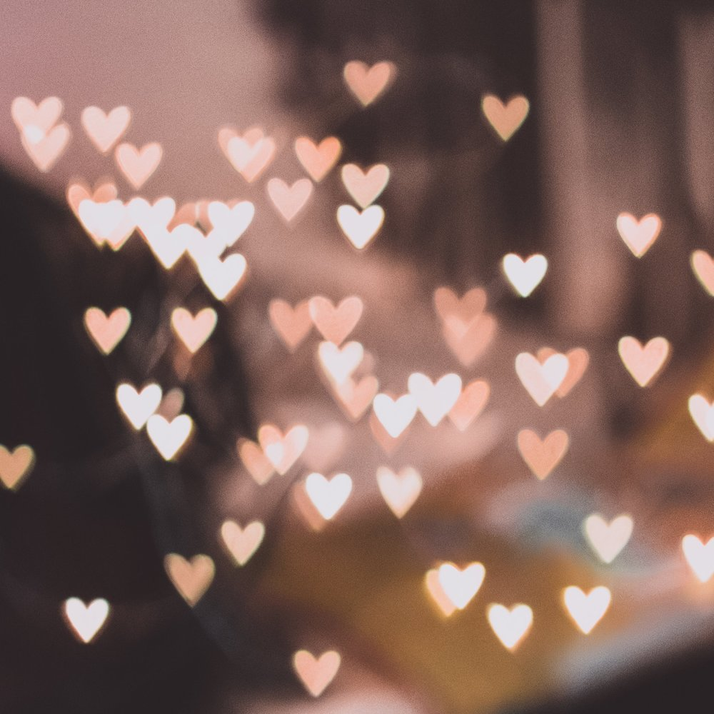 vintage valentines day dinner menu sparkly heart lights