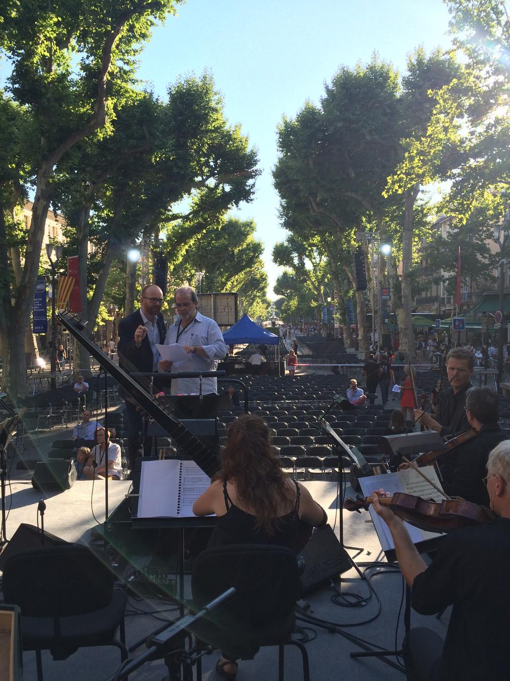 """Parades""-Konzert in Aix-en-Provence"