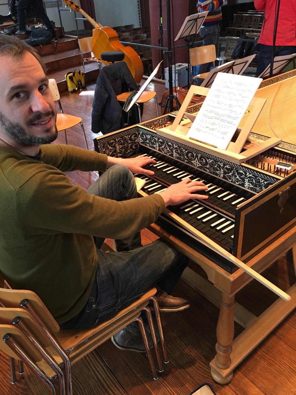 CD-Produktion Leclair Violinkonzerte