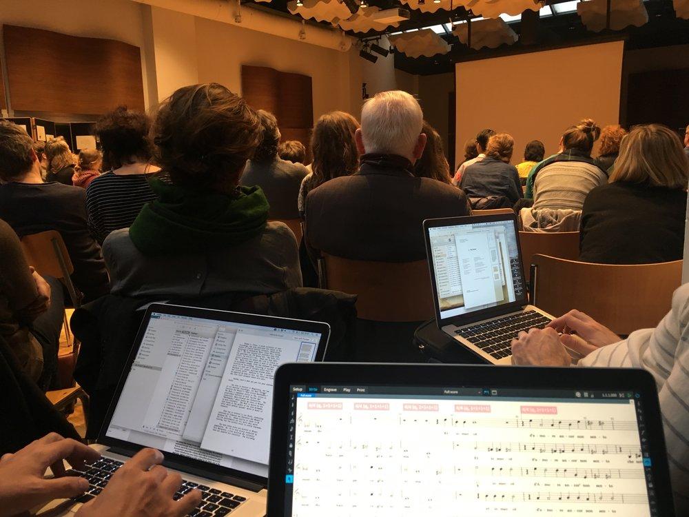 Referat am Schola-Symposium