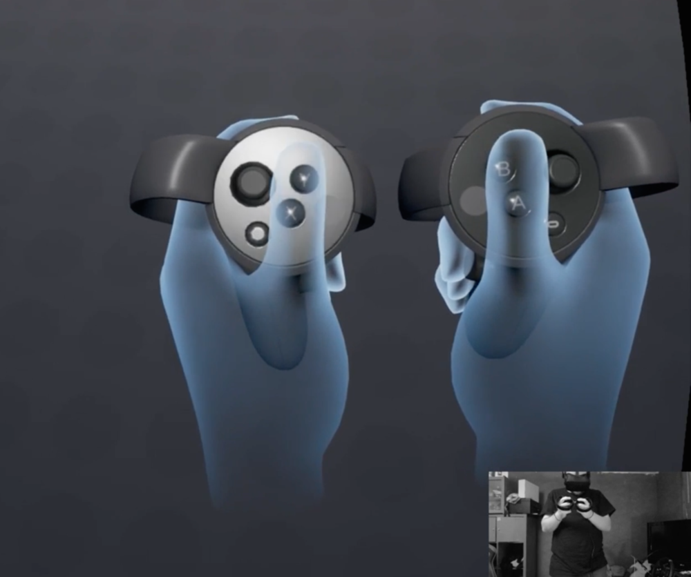 The tutorial in Oculus Rift + Touch teaches controller use & functions