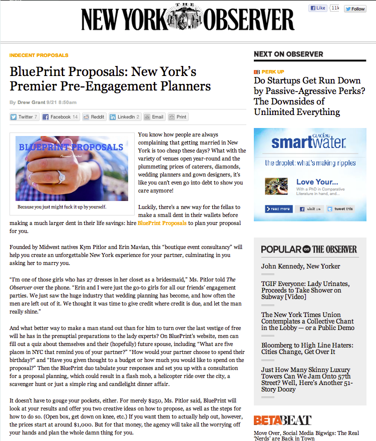 The New York Observer - Sept 21, 2012