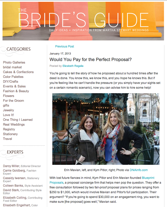 The Brides Guide from Martha Stewart Weddings - Jan 17, 2013