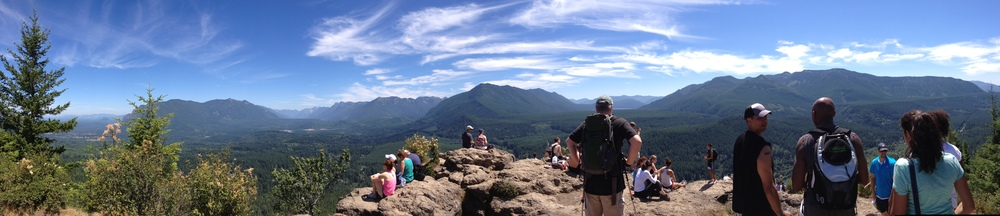 At The Top of Rattlesnake Ledge