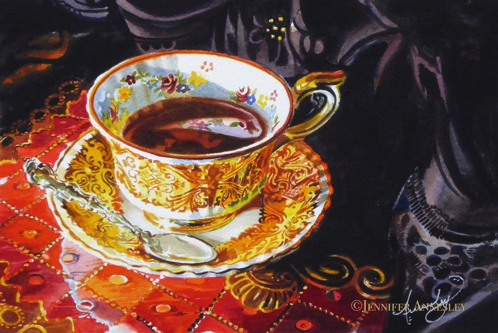 "#25  ""Gold Tea"""
