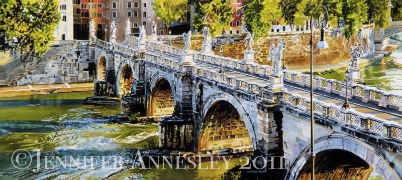 """Ponte de Sant' Angelo"""