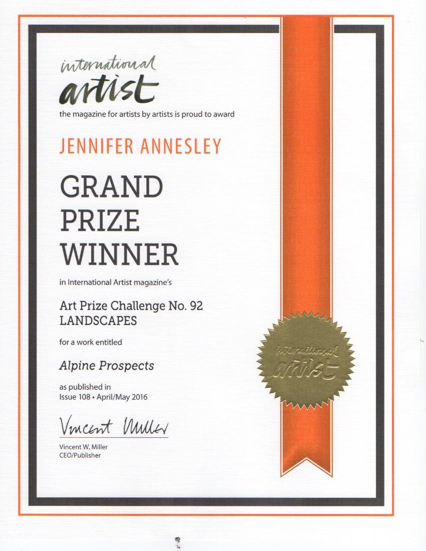 International Artist Grand Prize
