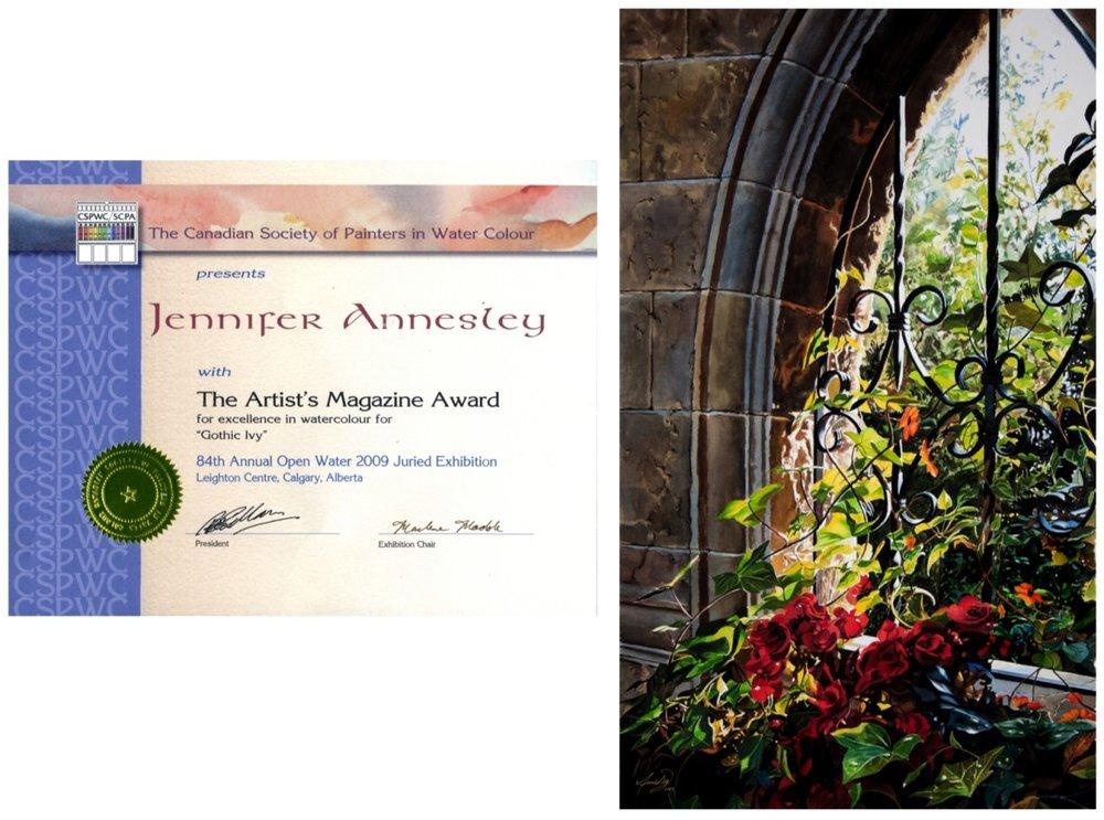 Artist's Magazine Award