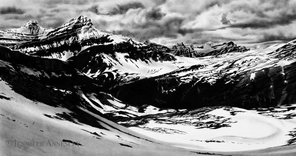 """Snow Meadow, Whitegoat"""