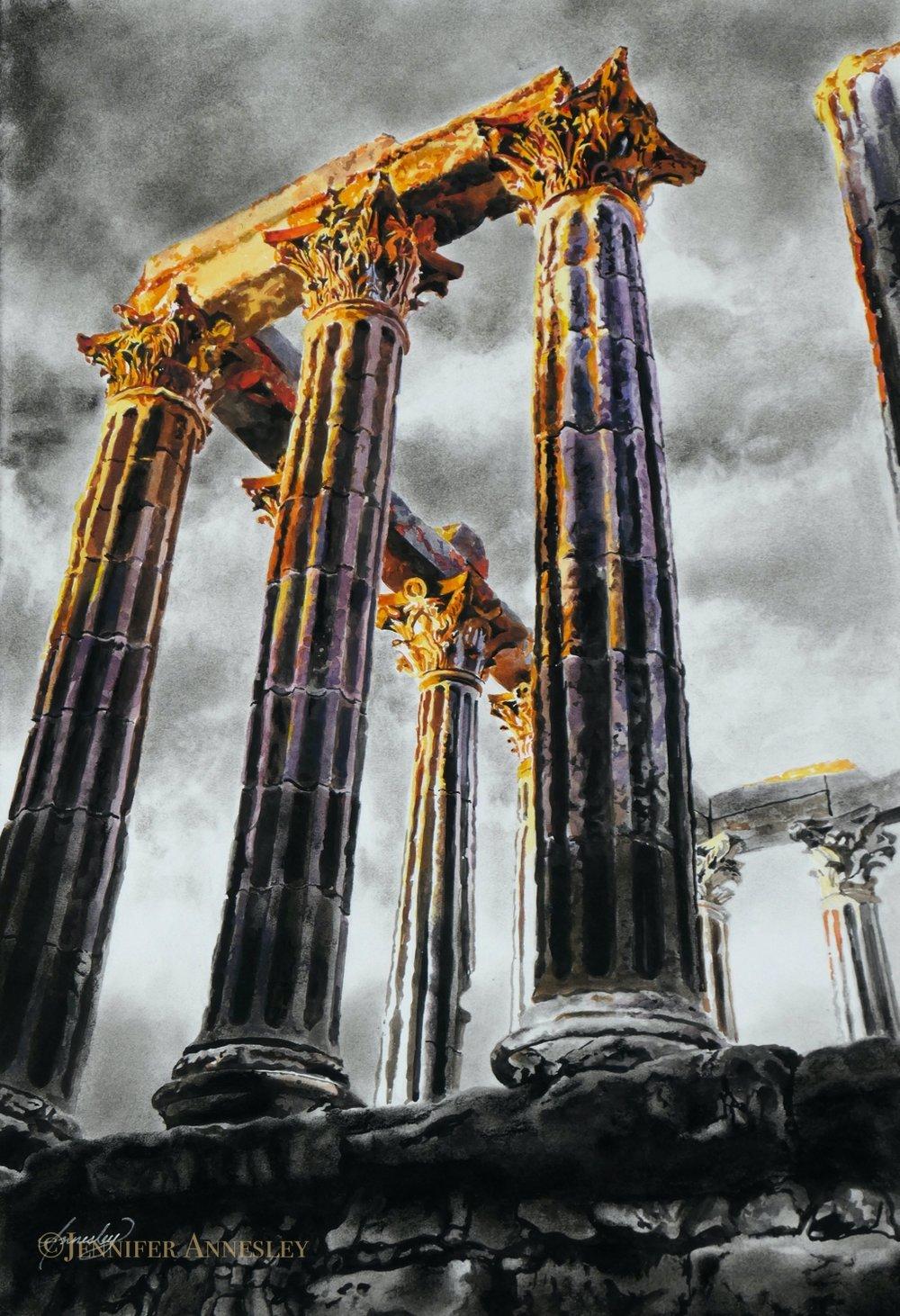 """""""Temple of Evora"""""""