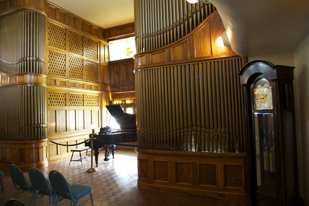 The Music Room in the Rosario Hotel