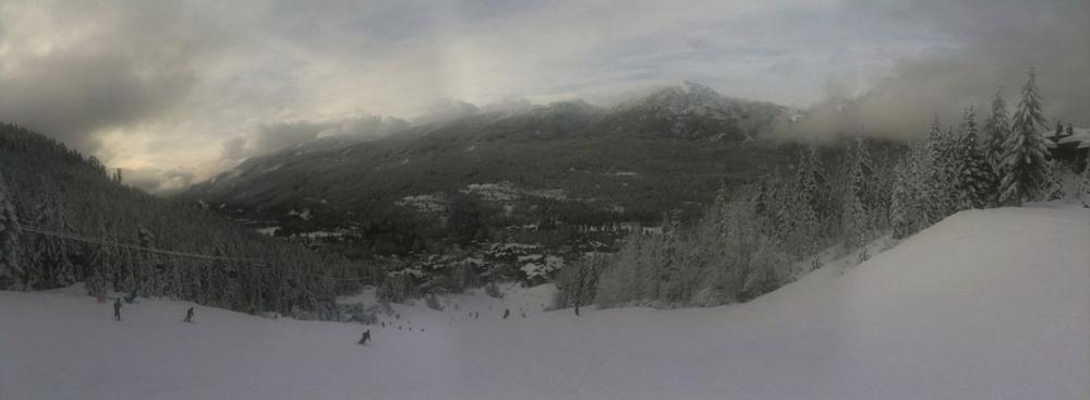 Panorama at Whistler.