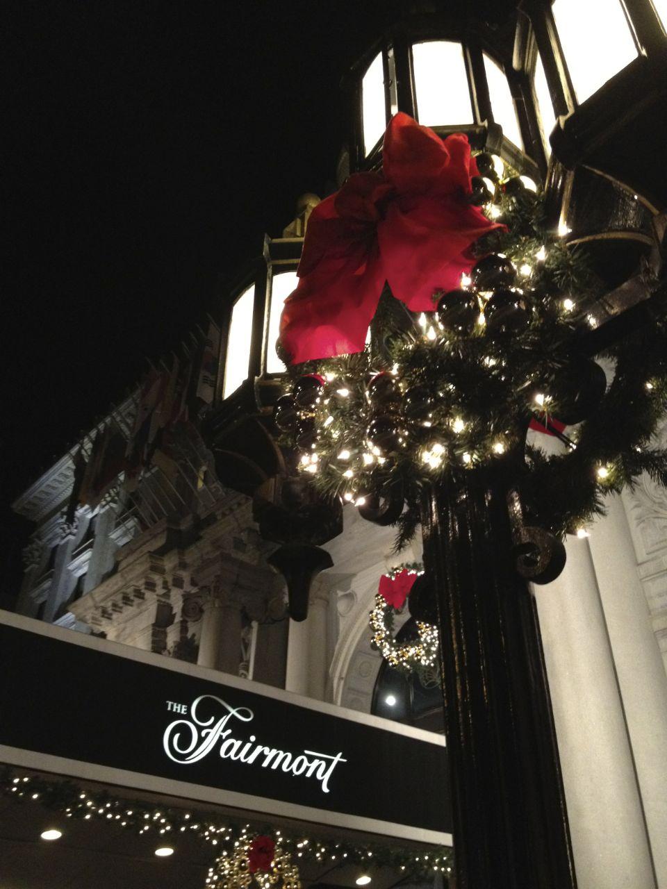 Fairmont hotel.