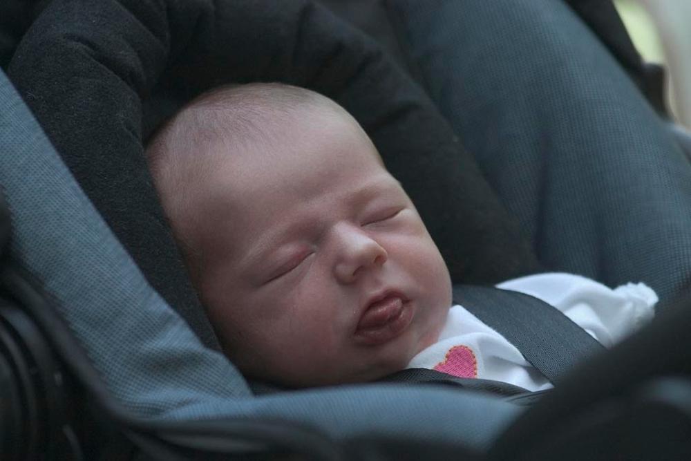 Mackenzie, less than a week old!