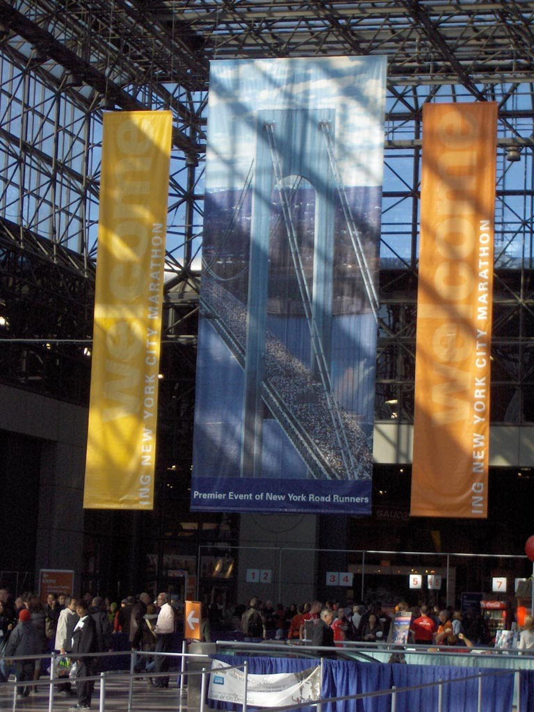 The NYC Marathon Expo
