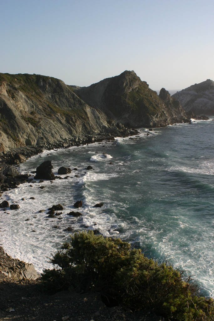 An example of the amazing California coastline...
