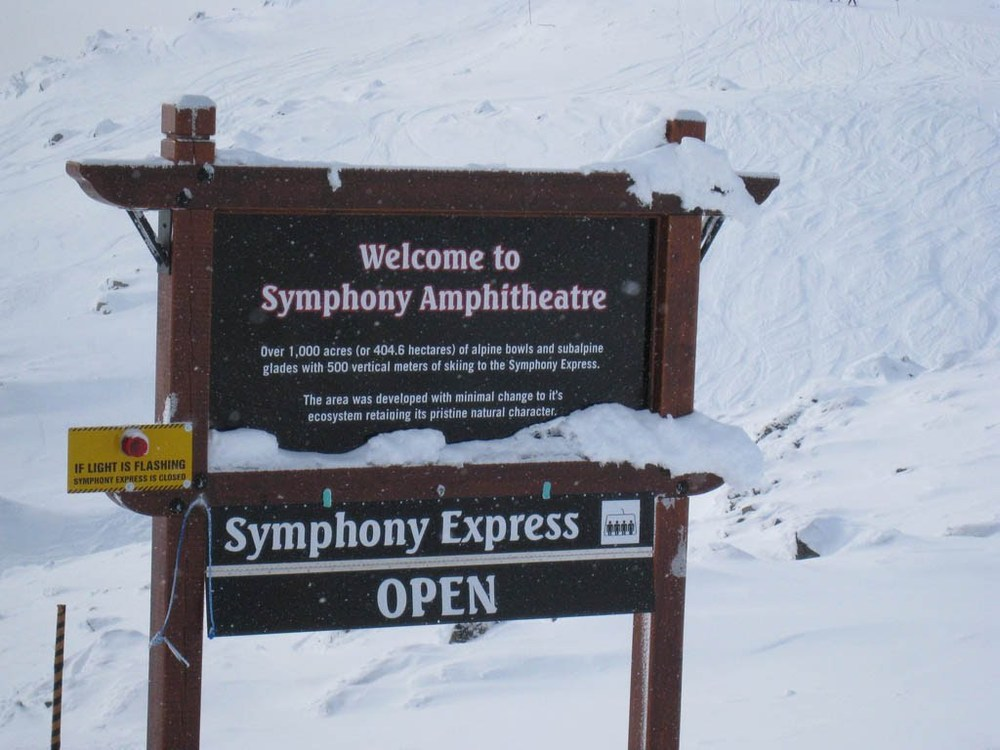 Signage for Symphony