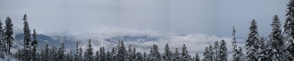 I created this panorama image of Blackcomb Mountain. Maybe I should have picked something a little easier, for a first try...