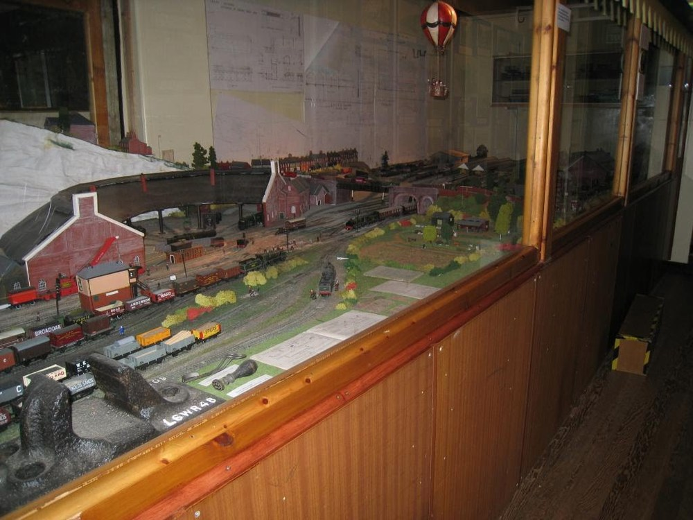 Model of the Railway Station, Guilford Museum