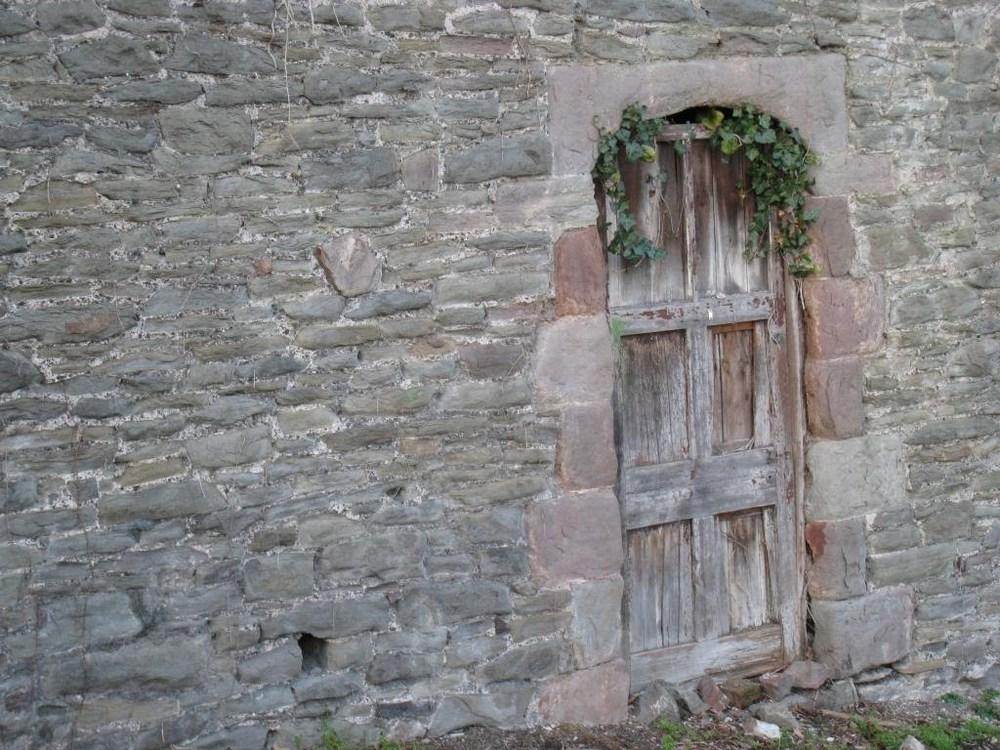Door to ?, Bristol England. February 2007.