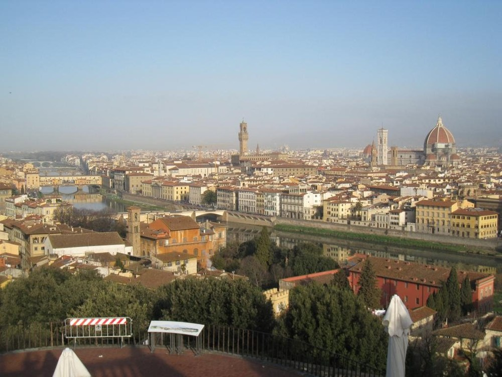 View of Florence from the  Piazzale de Michelangelo