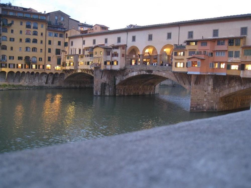 Ponte Vecchio at twilight