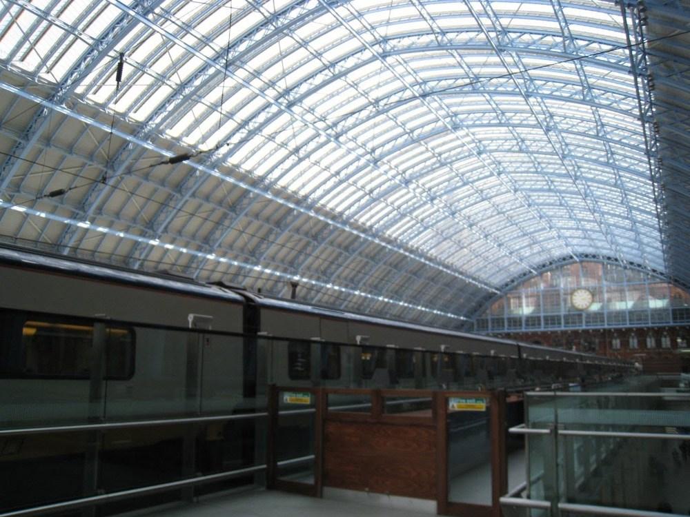 St. Pancreas Terminal, London