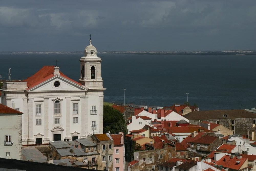 Views over Lisbon, from one of the many scenic viewpoints