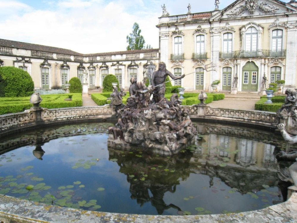 A couple of views of the  Queluz National Palace and gardens