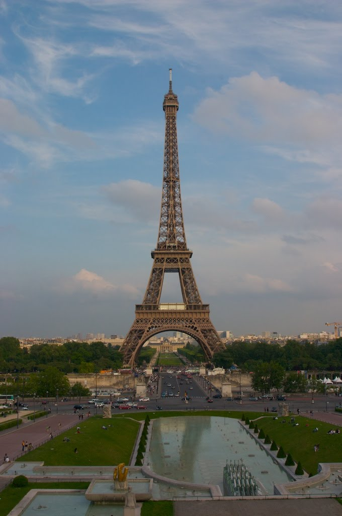 About as iconic as they come; the Effiel Tower