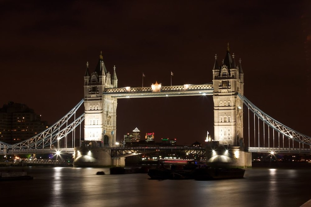 Tower Bridge, London. July 2008