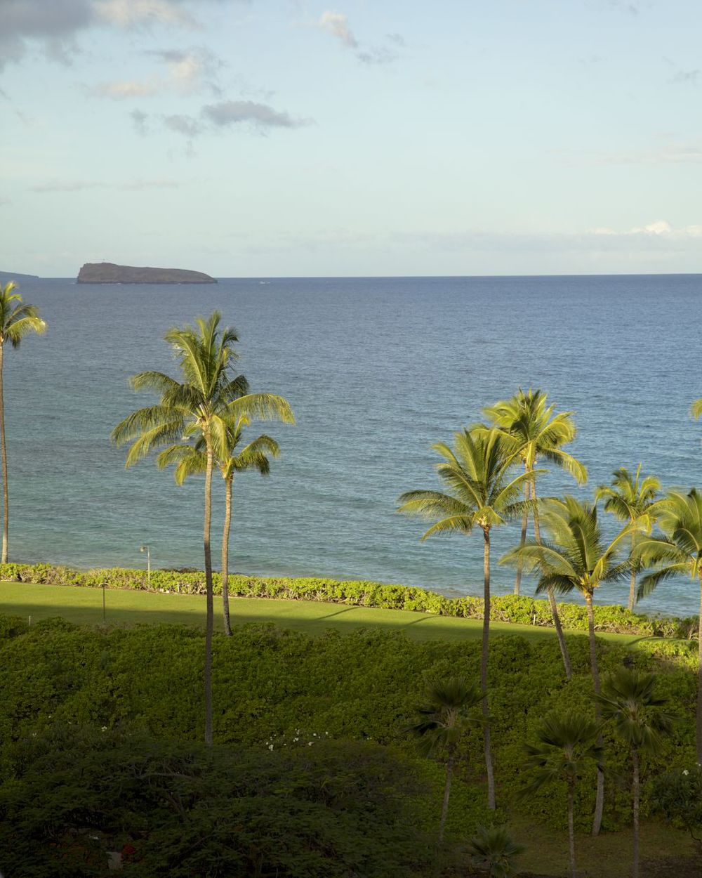 Once the sun came up, we could see that we had a pretty nice view from our lanai. We could even see Molokini, the volcanic crater about 3 miles offshore.