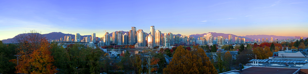 We have had an amazing fall here in Vancouver. The colours are nice, and there has been many clear, sunny days.
