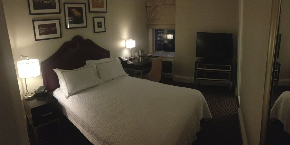Small, but well appointed rooms. All newly renovated.