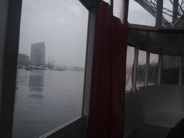 We took the Aquabus over to BC Place for the Home and Garden Show.