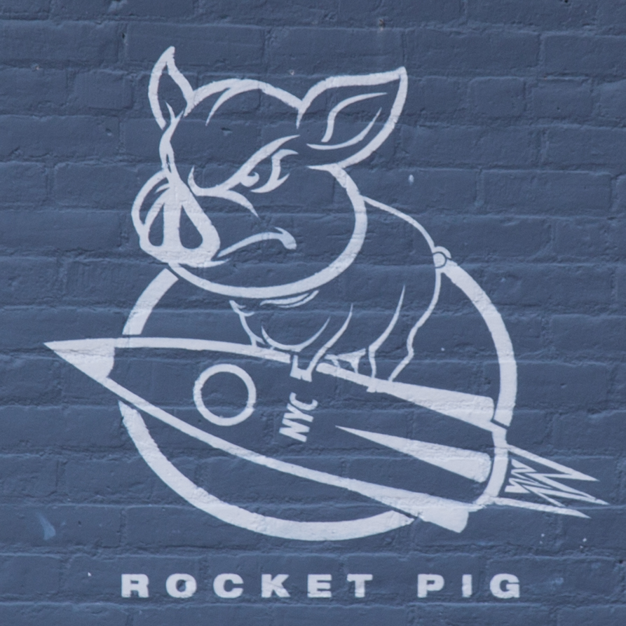 "Yes, it's very random, but how could I pass up ""Rocket Pig""?"