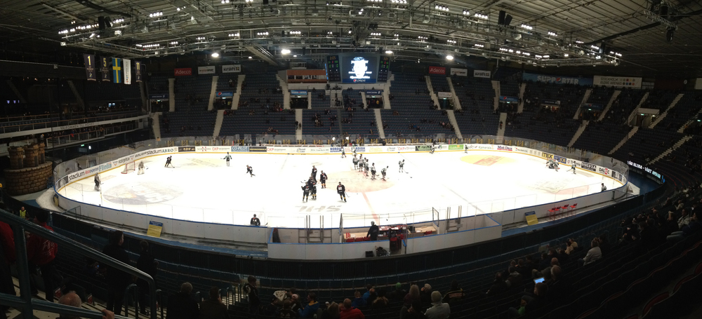 A pano of the whole arena