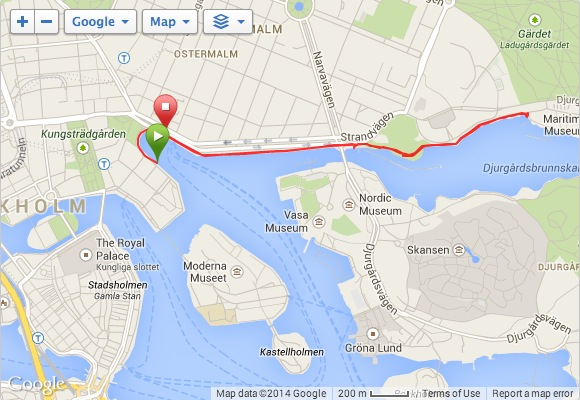 My run on Sunday was a bit shorter, and I took the north side of the park for something different.