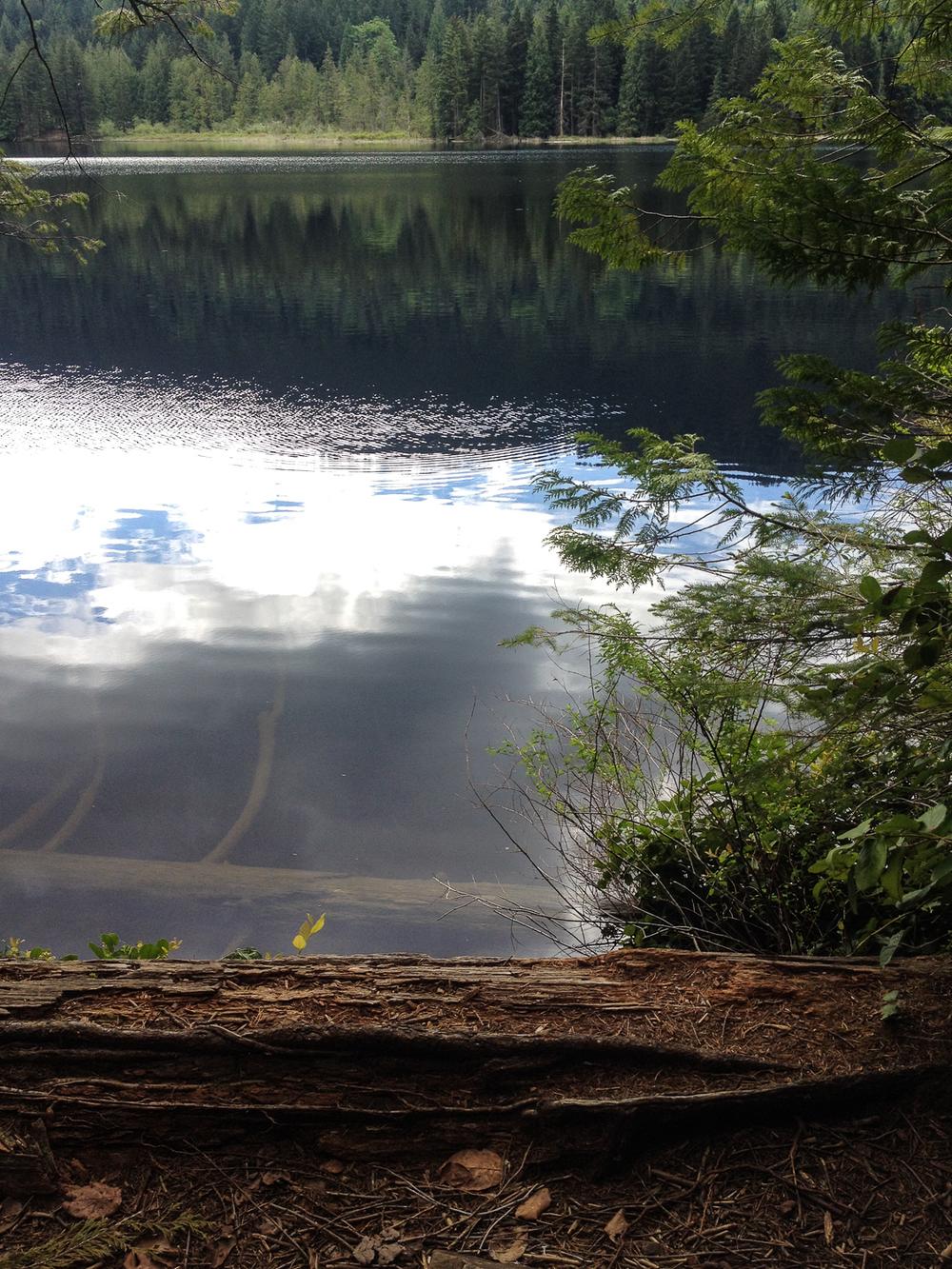 Grafton Lake - sadly, we were not supposed to get near Grafton Lake on this hike.