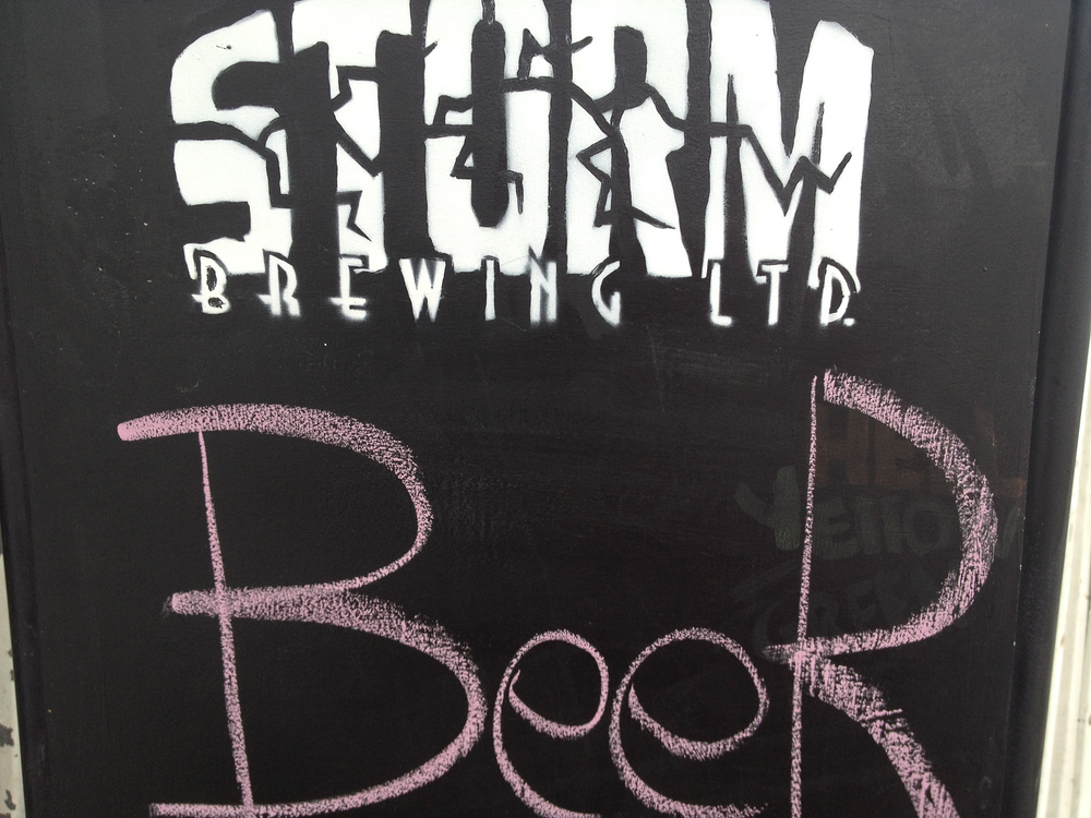 Stop #2 - Storm Brewing