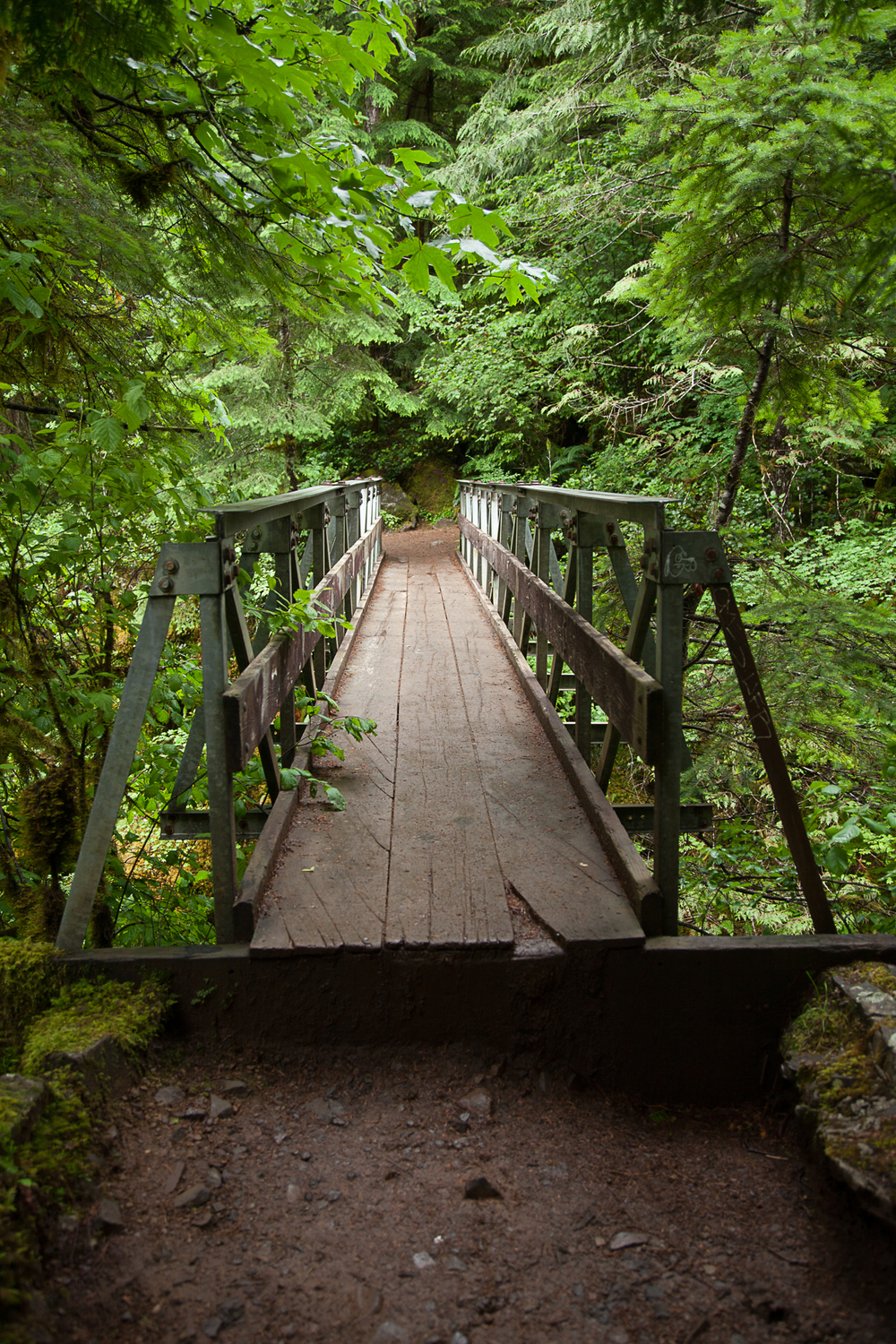 High Bridge - one of only two places where the trail crosses the river.