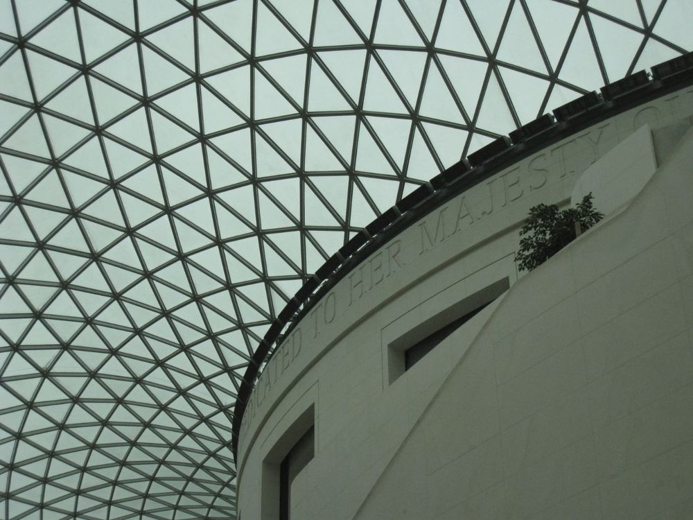 The main foyer at the British Museum