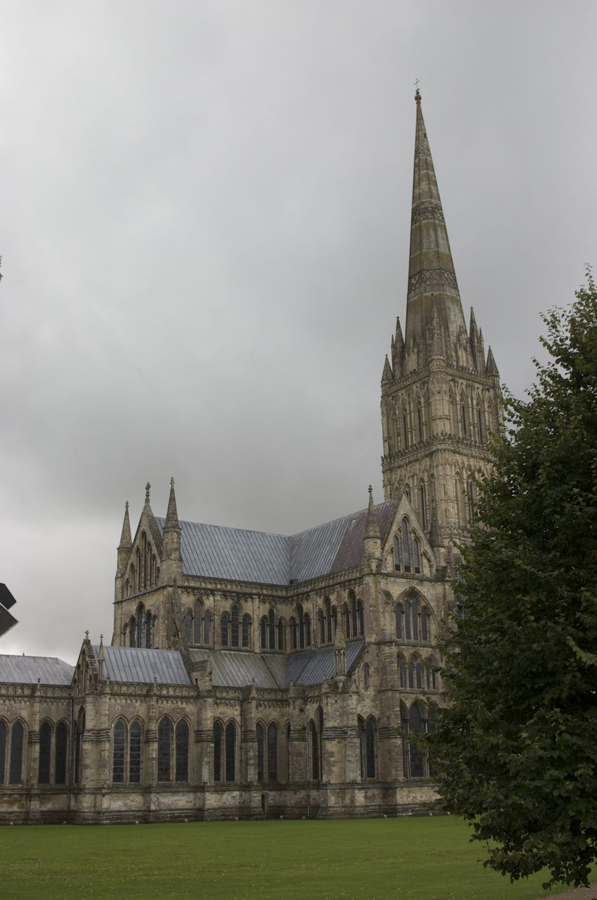 Salisbury Cathedral - 750 years young