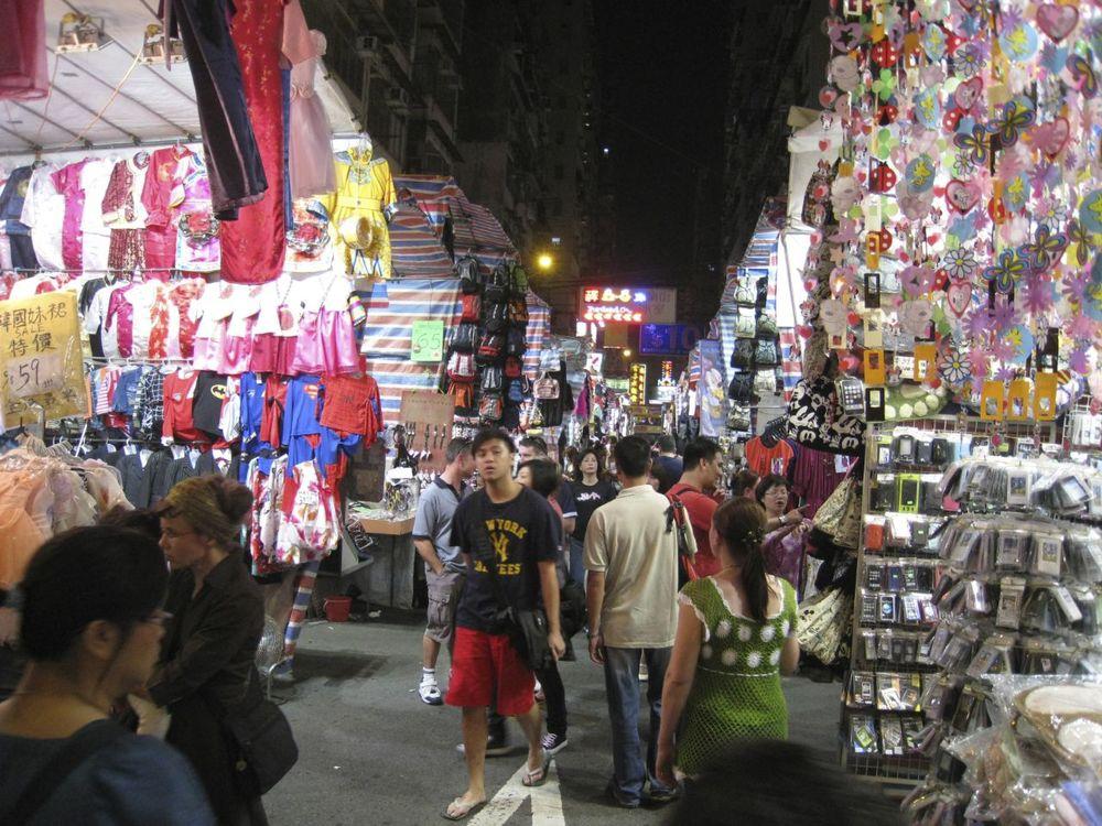 Various street scenes - markets
